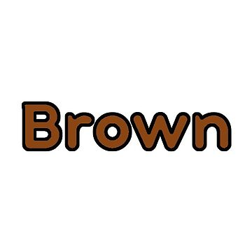 Brown Bubble Font by alaswell