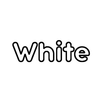 White Bubble Font by alaswell