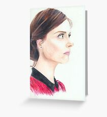 Impossible Girl Greeting Card