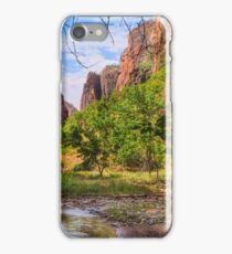Zion Narrows Artistry iPhone Case/Skin