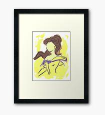 Disney Paint Collection: Belle Framed Print