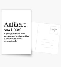Antihero Definition Postcards