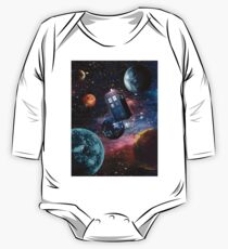 Doctor Who Space One Piece - Long Sleeve