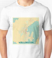 Wallington Map Retro Unisex T-Shirt