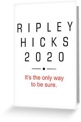 RIPLEY HICKS 2020 Presidential Campaign by kathcom