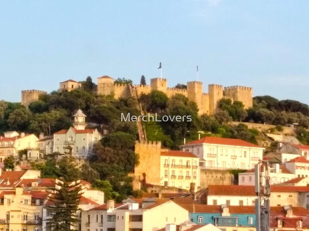 Lisbon View - Castelo São Jorge - Saint Jorge Castle by MerchLovers