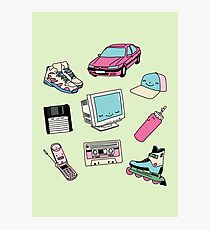 90s paradise by Elebea Photographic Print