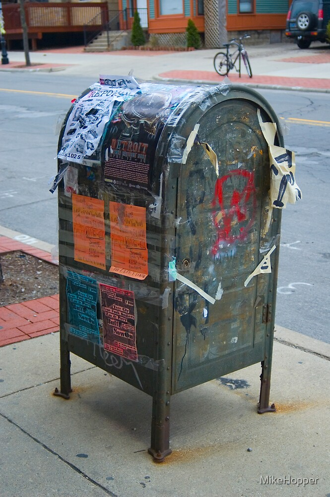 Mailbox Graffiti by MikeHopper