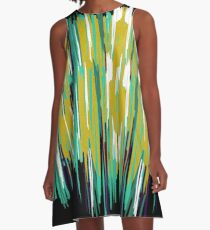 Creek An Abstract Painting A-Line Dress