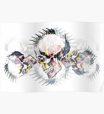 Punkz-skullz Poster