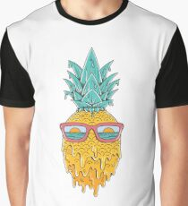 Pineapple Summer Graphic T-Shirt