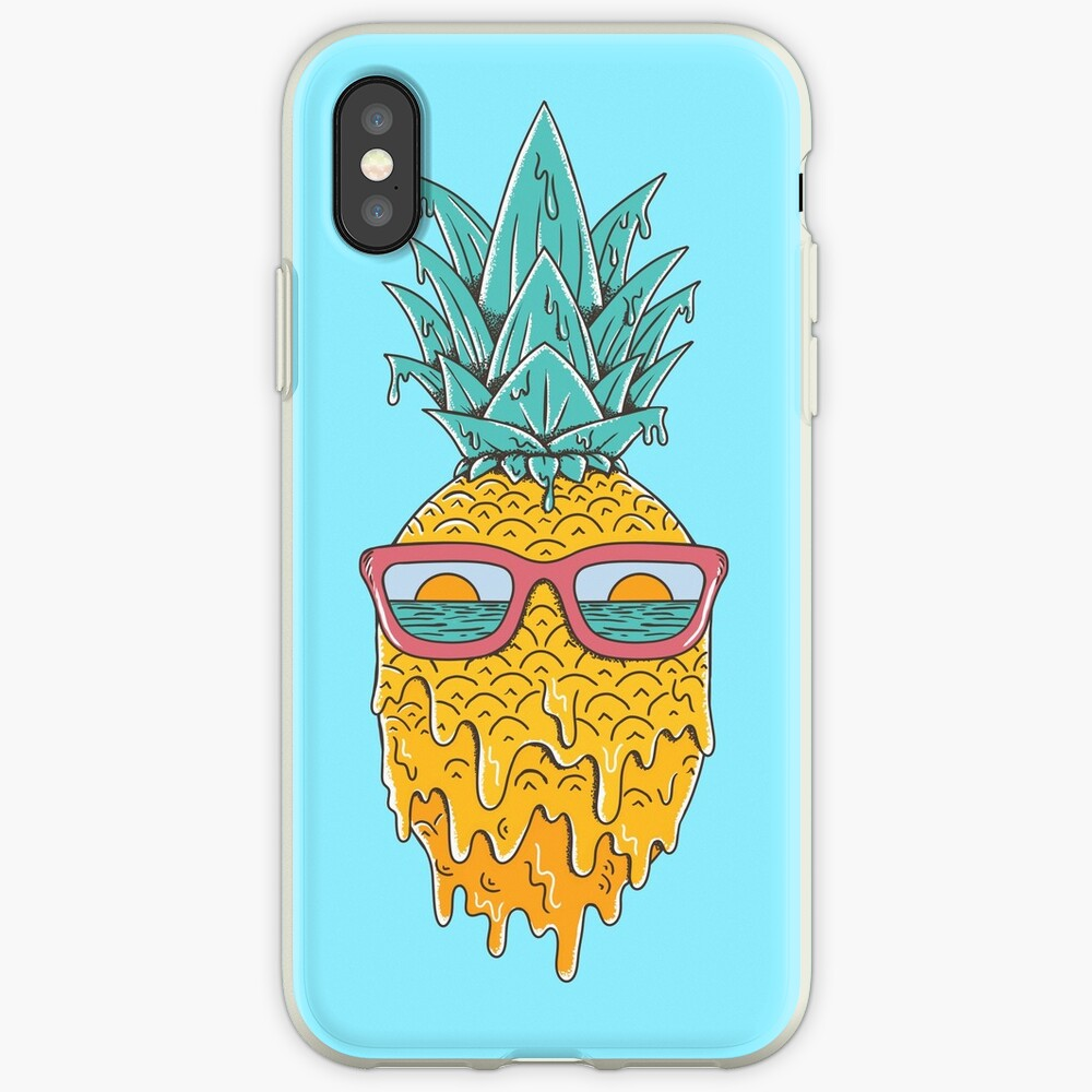 Ananas Sommer iPhone-Hüllen & Cover