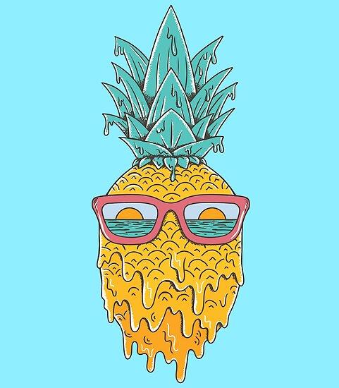 Ananas Sommer von coffeeman