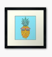 Pineapple Summer Framed Print