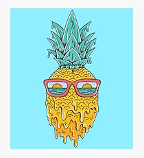 Pineapple Summer Photographic Print