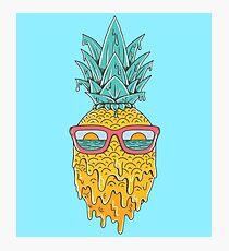 Ananas Sommer Fotodruck