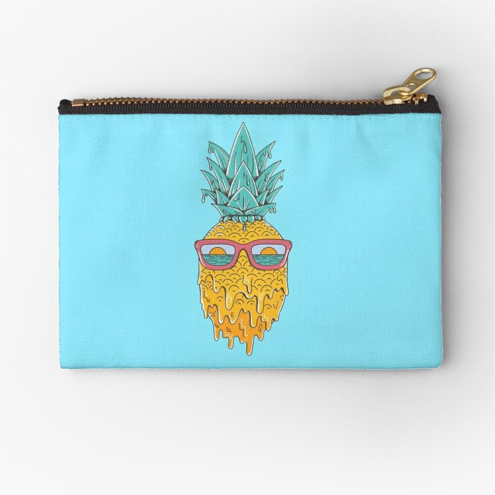 Pineapple Summer Zipper Pouch