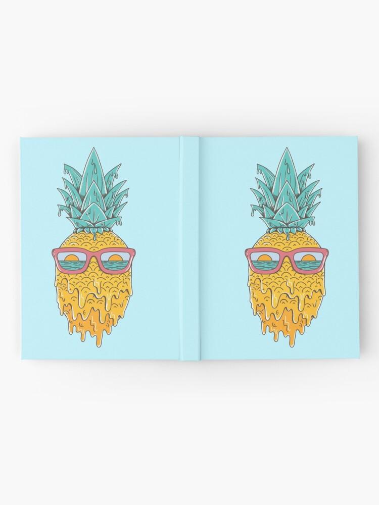 Alternate view of Pineapple Summer Hardcover Journal