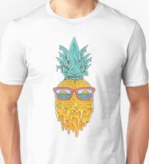 Ananas Sommer Slim Fit T-Shirt