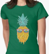 Pineapple Summer Womens Fitted T-Shirt