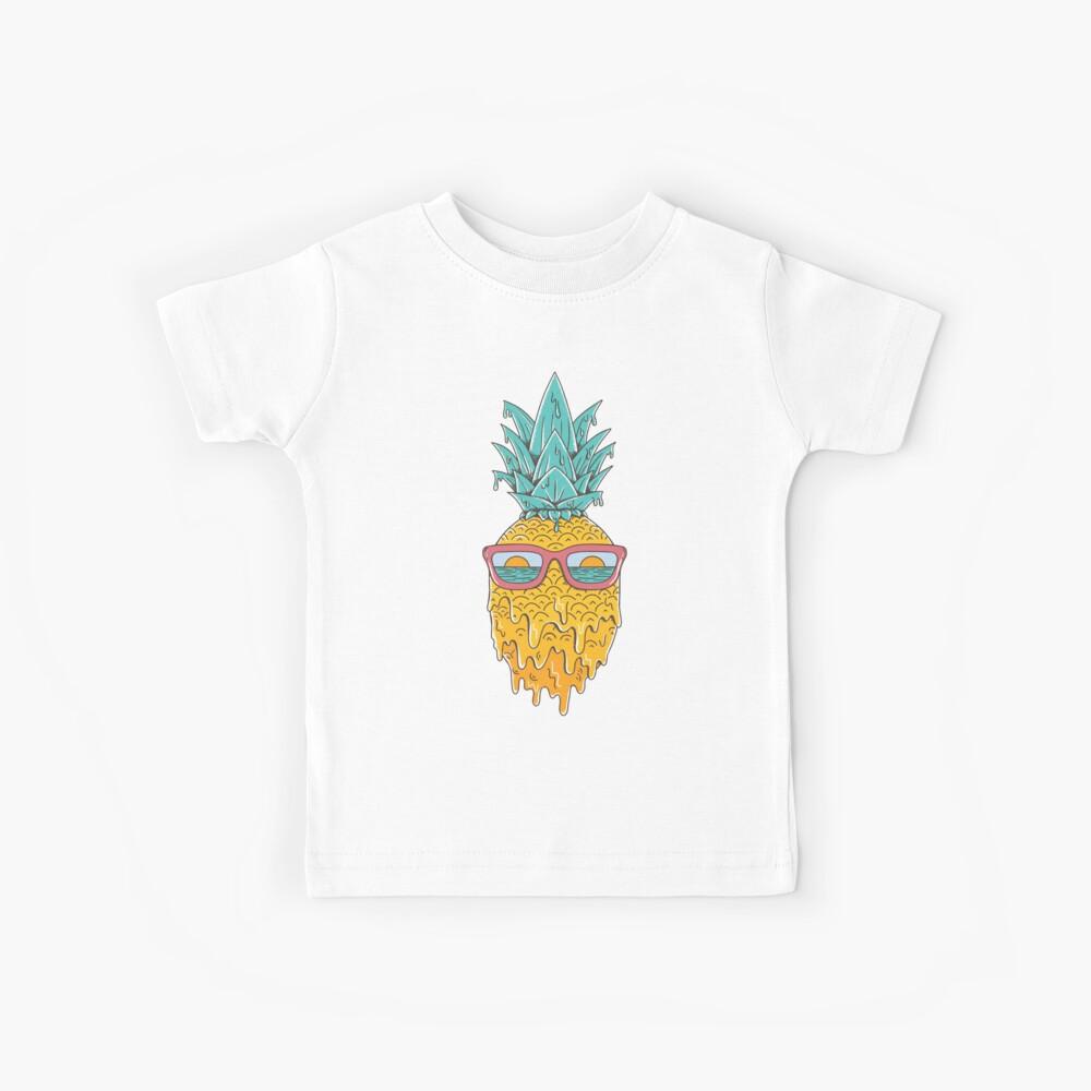 Ananas Sommer Kinder T-Shirt