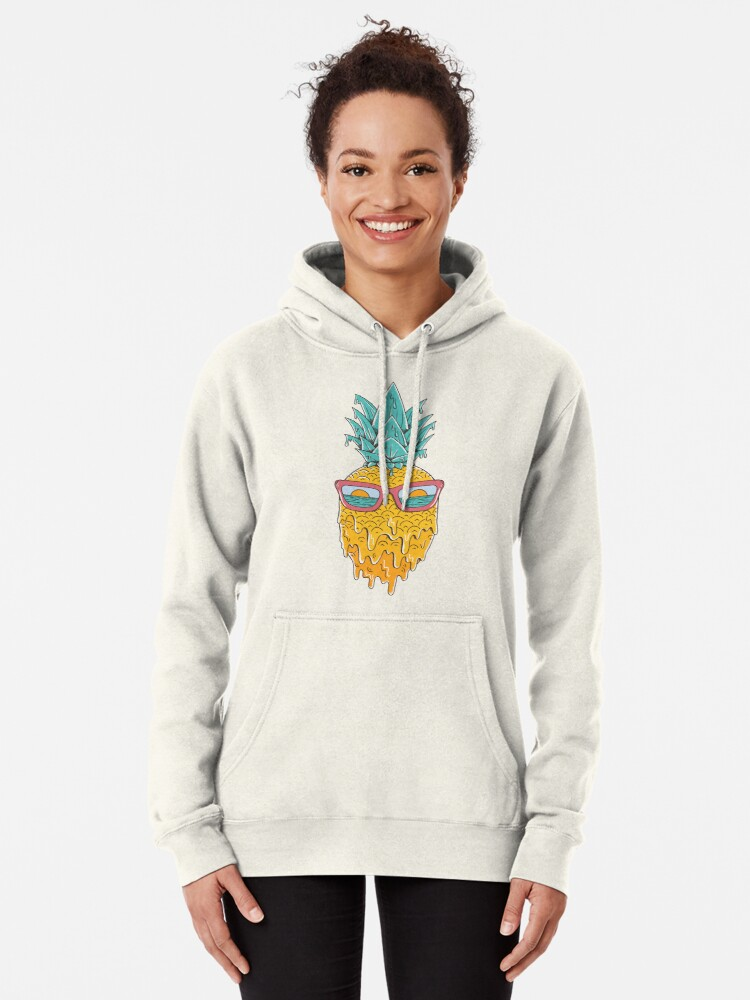 Alternate view of Pineapple Summer Pullover Hoodie