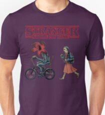 Horror Stranger Stole My Bike Unisex T-Shirt