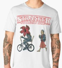 Horror Stranger Stole My Bike Men's Premium T-Shirt