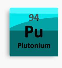 Plutonium: the Nuclear Element Canvas Print