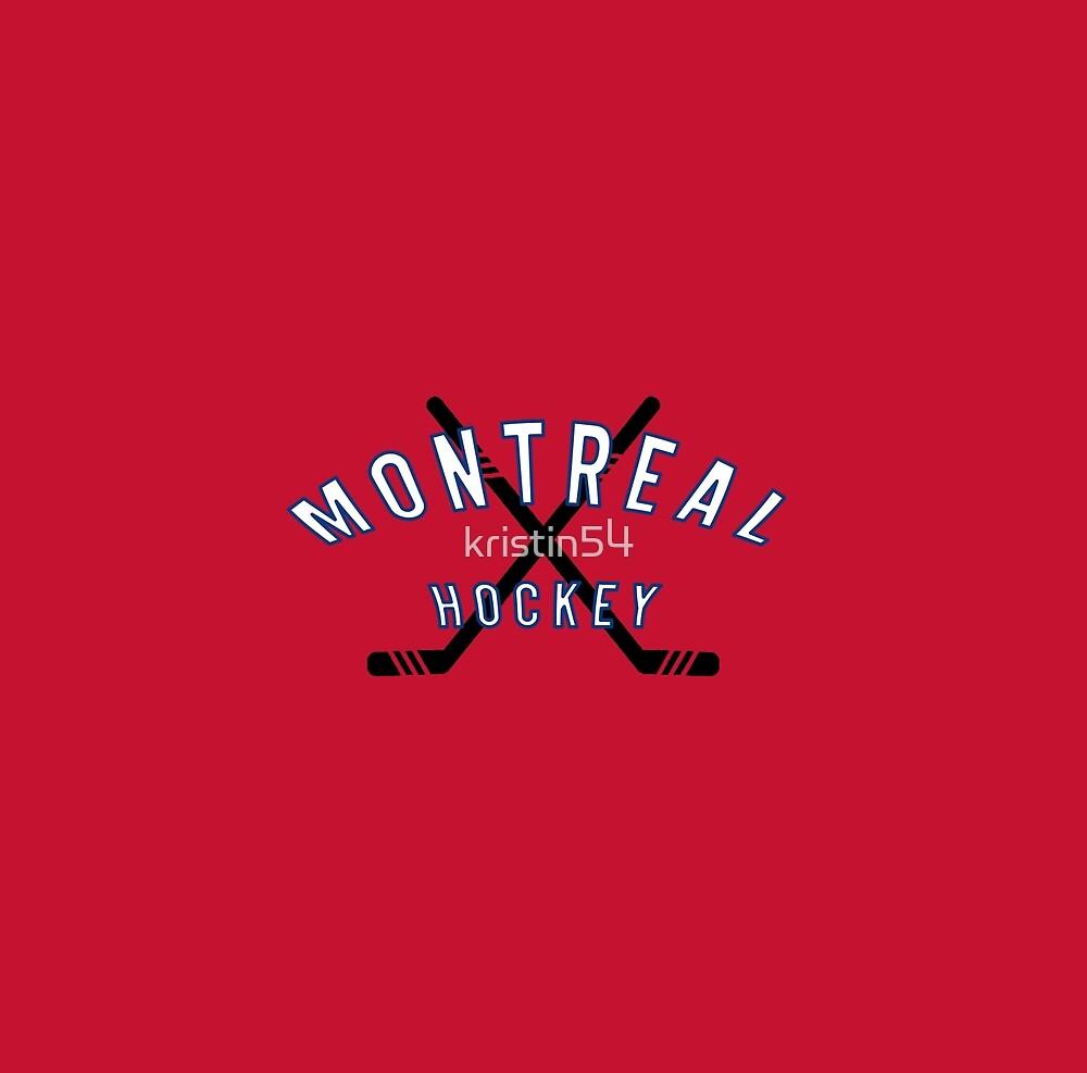Montreal Hockey by kristin54