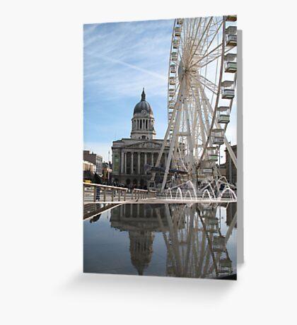 Nottingham Slab Square Greeting Card