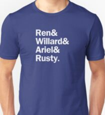 Footloose Characters | Navy Unisex T-Shirt