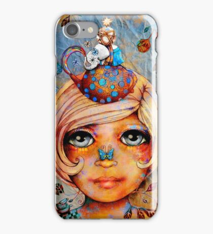 There's a Butterfly on my Nose iPhone Case/Skin