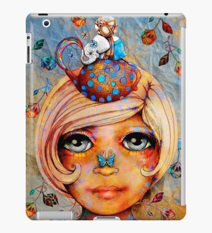There's a Butterfly on my Nose iPad Case/Skin