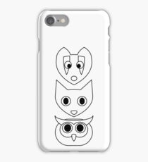 Colour Me Forest Friends iPhone Case/Skin
