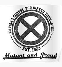 Xavier's School Logo Poster