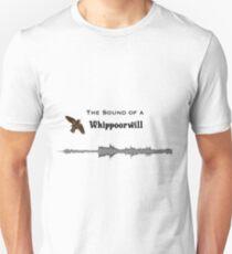 Whippoorwill Acoustics Sound Plot Unisex T-Shirt