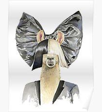 Sia Llama Poster