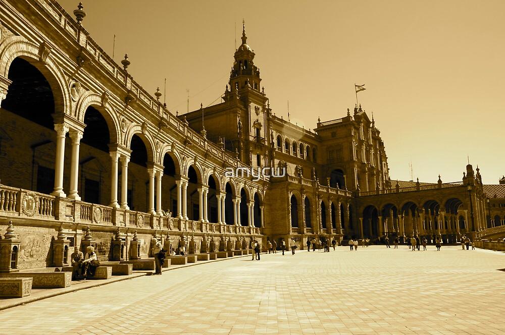plaza de espana by amycw