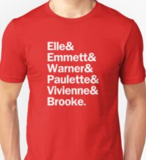 Legally Blonde Characters | Pink Unisex T-Shirt