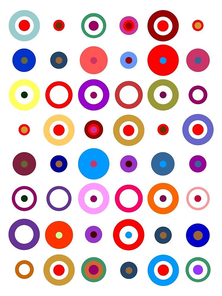 Op Art #7A by Rockett Graphics