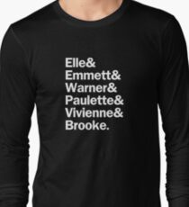 Legally Blonde Characters | White Long Sleeve T-Shirt