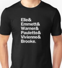 Legally Blonde Characters | White Unisex T-Shirt