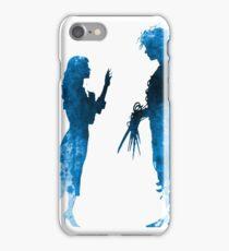 Edward Scissorhands [Blue] iPhone Case/Skin