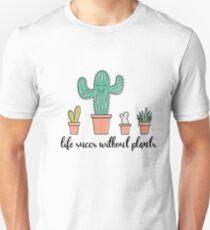 Succulent Plant Shirt Pun Punny Crazy Plant Lady Shirt Gift Unisex T-Shirt