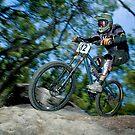 Downhill Mountain Bike by Simon Hodgson