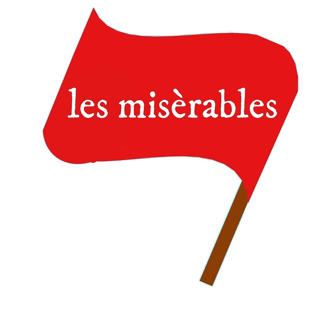 Les Miserables Flag by thinkofmerch