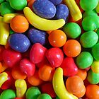 Mini Fruit Colorful Candy by FrankieCat