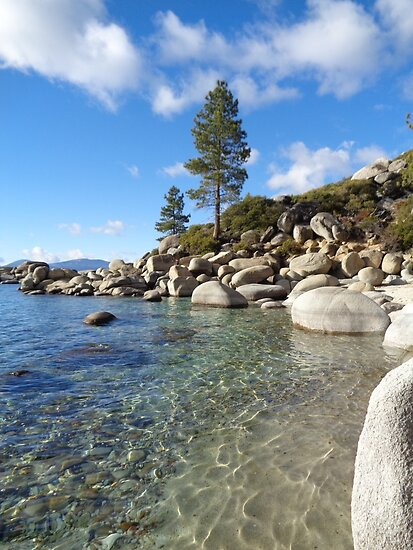 Sparkling Turquoise Waters at Lake Tahoe by KristinaL