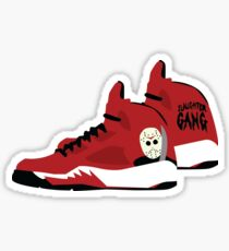 21 Savage Slaughter Gang J 5s Sticker